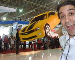 Ilusionista Magico Lucas Proximidade Palco Automovel GM Corporativo-3